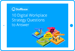 10 Digital Workplace Strategy Questions to Answer - Find answers to the top 10 questions about a digital workplace strategy and learn why the digital workplace is so important to the employee experience.
