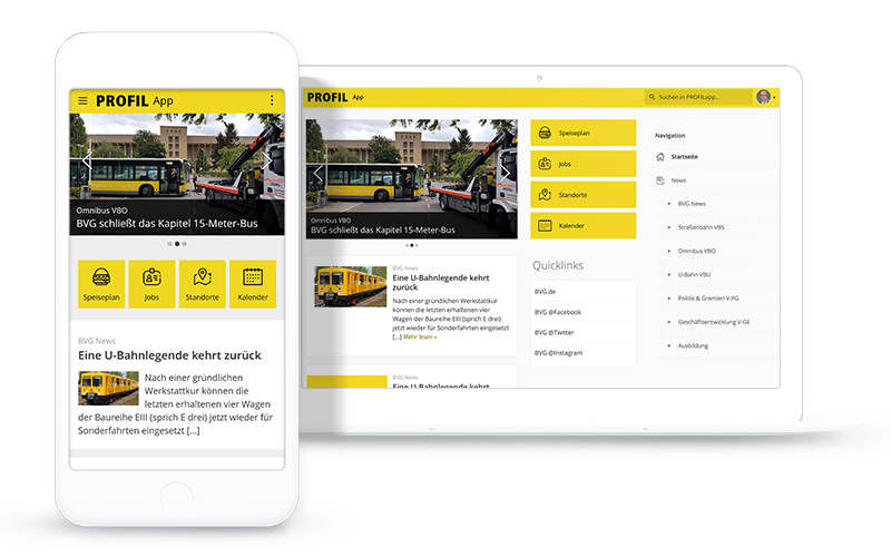Staffbae Employee Experience Platform for BVG