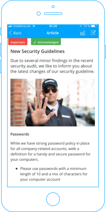 Safety Rules — Inform Your Employees about Security Updates