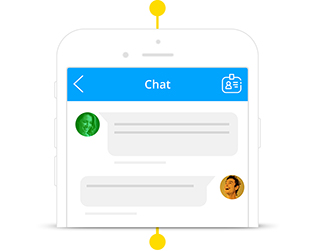 Staffbase Employee App Chat