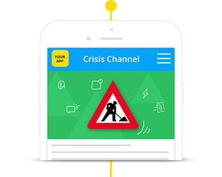 Staffbase Employee App Crisis Management