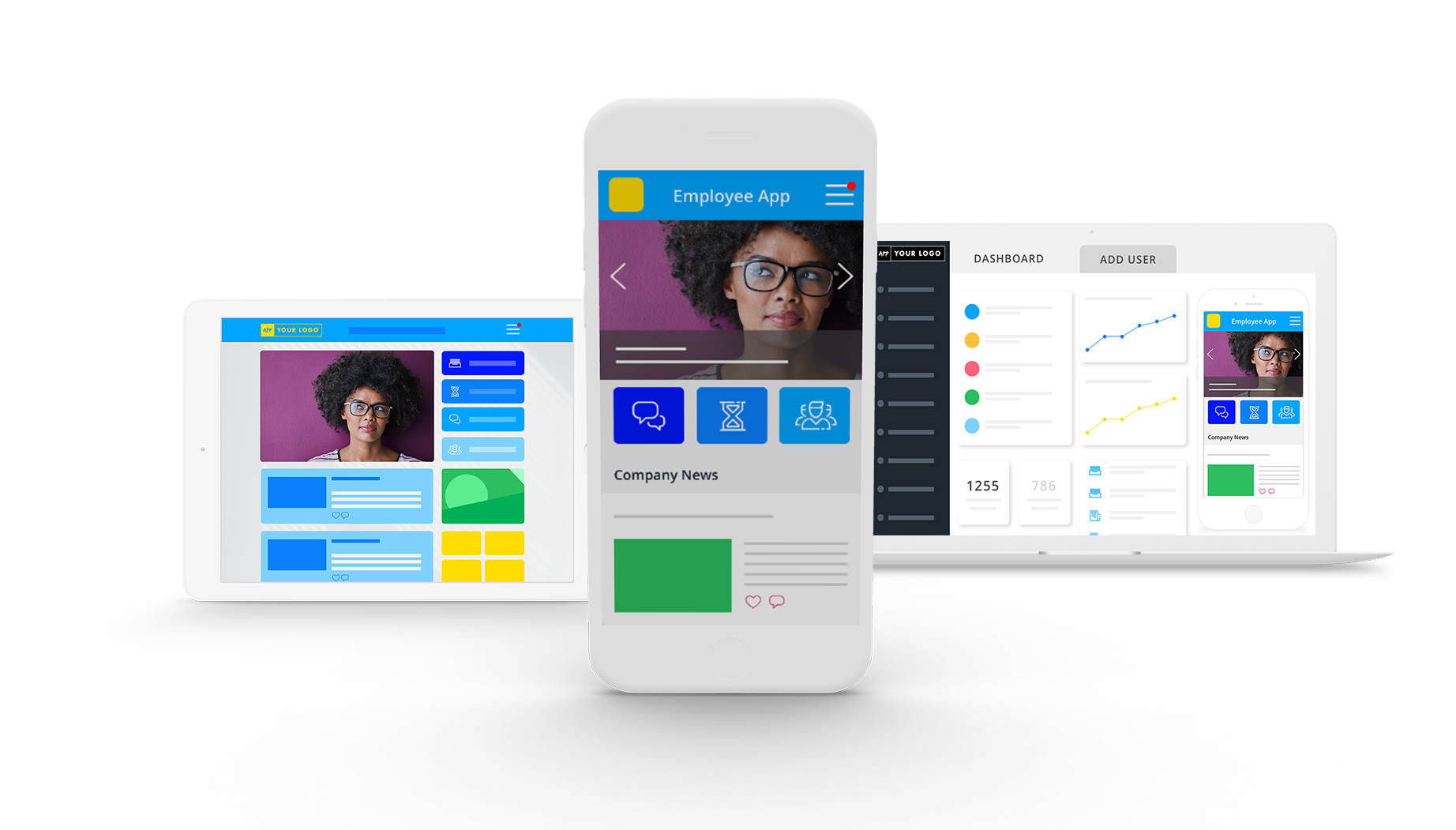 Employee Experience Mobile Intranet Platform App