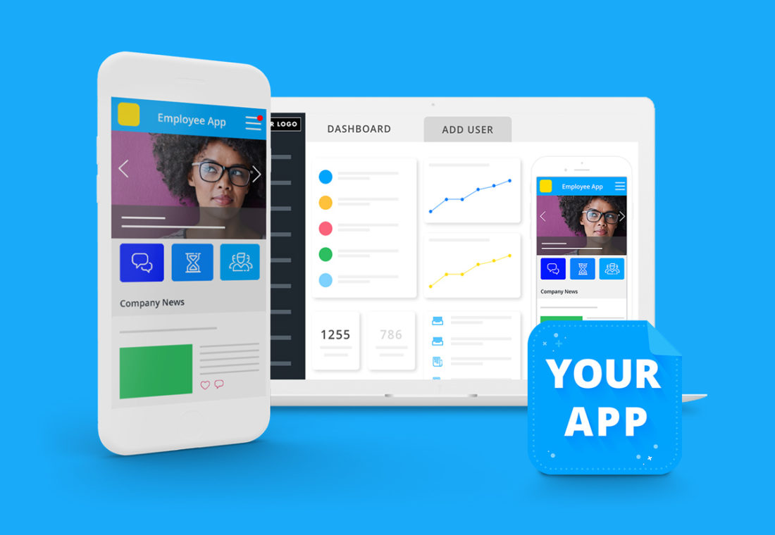 Startpage Employee App