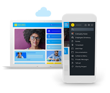 Employee Experience Mobile Intranet Platform App – User Friendly