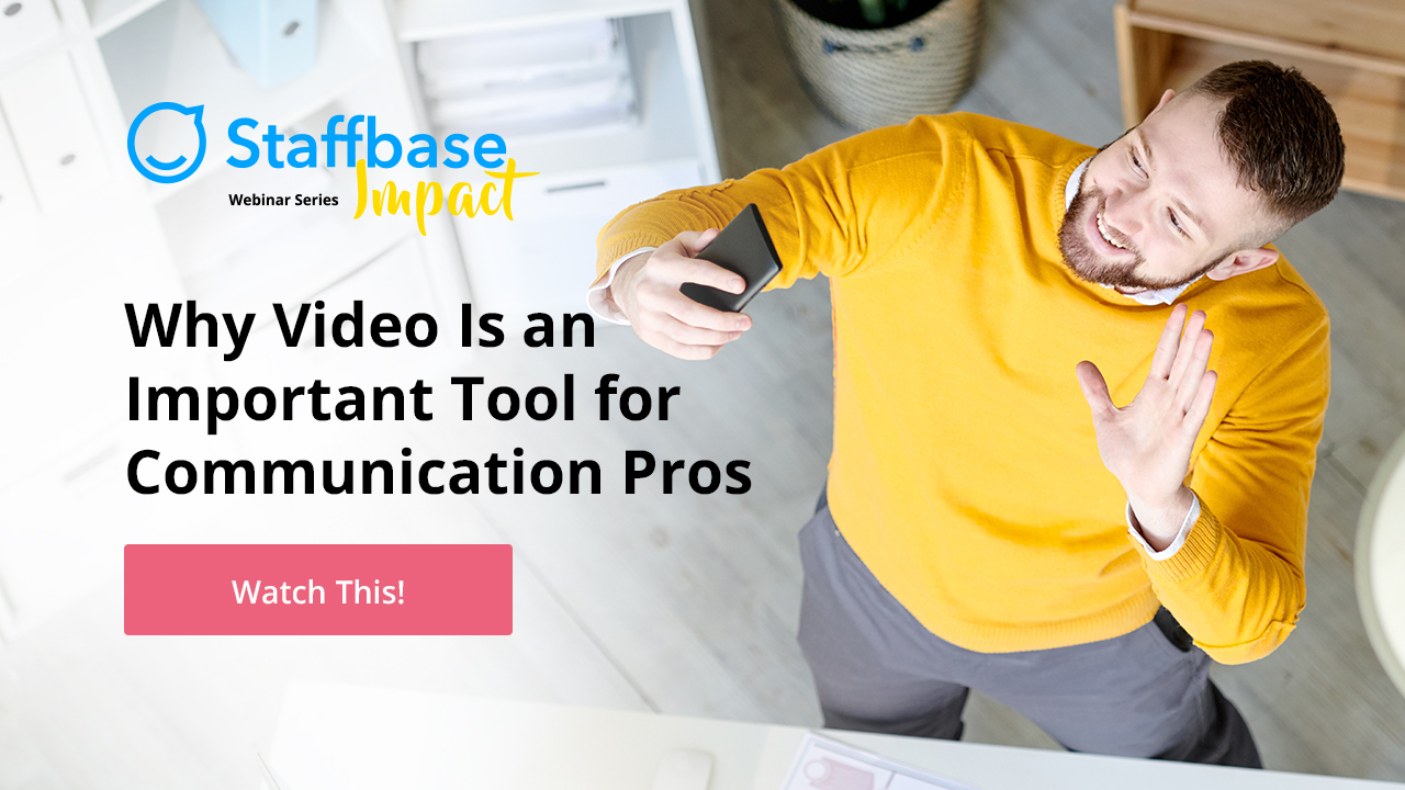 Watch This! Why Video is an Important Tool for Communication Pros