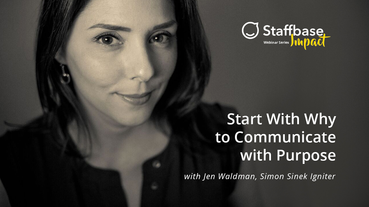 Start With Why to Communicate With Purpose