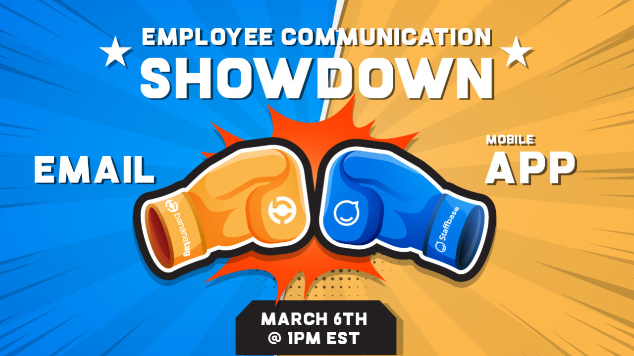Employee Communication Showdown: Email vs. Mobile App