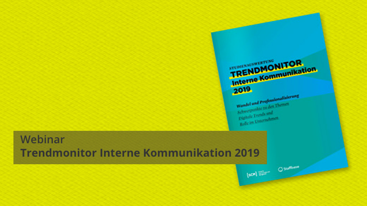 Trendmonitor Interne Kommunikation 2019