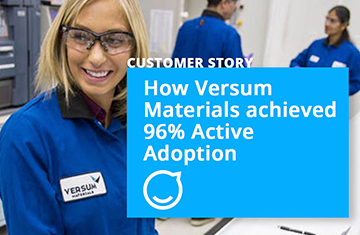 How Versum Engages 2,000 Employees with 1 Branded Mobile App