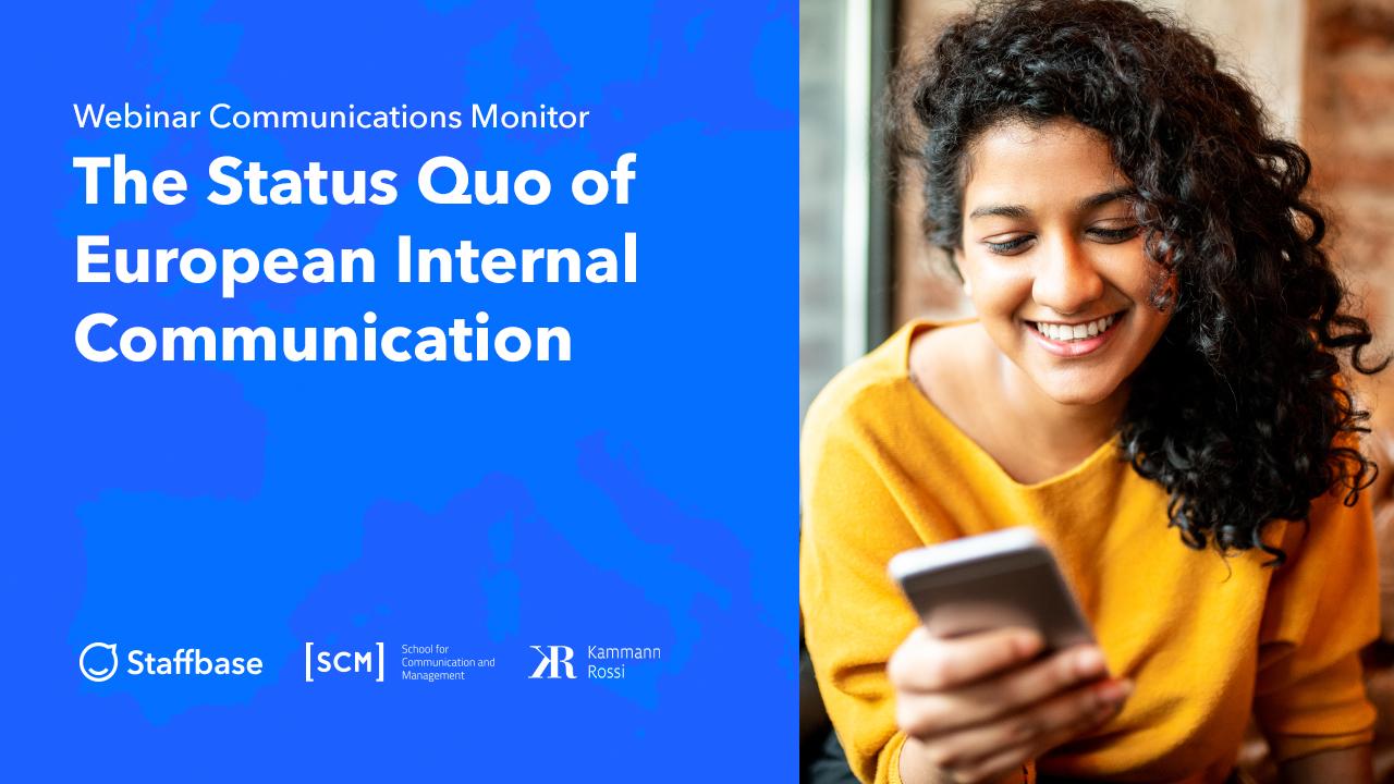 Internal Communications Monitor 2020 – Studienvorstellung im kostenlosen Webinar
