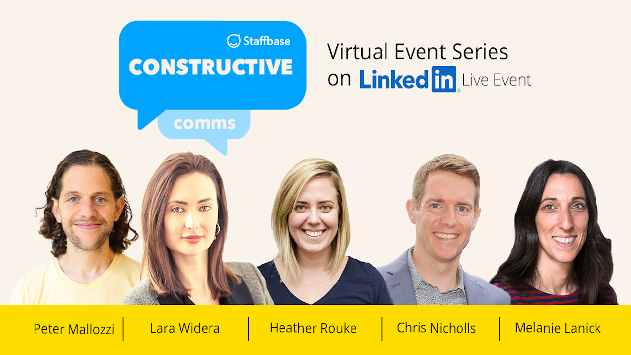The 'Constructive Comms' Virtual Event Series