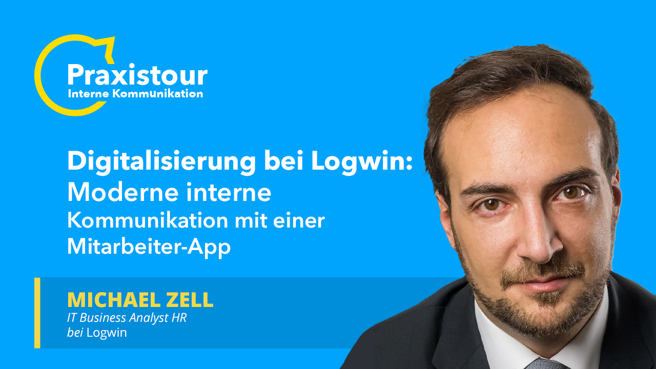 Digitale Mitarbeiterkommunikation bei Logwin