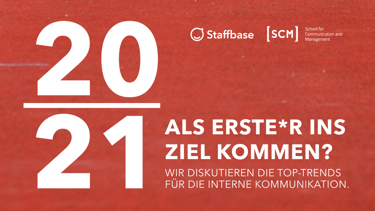 Die Top-Trends für die interne Kommunikation 2021