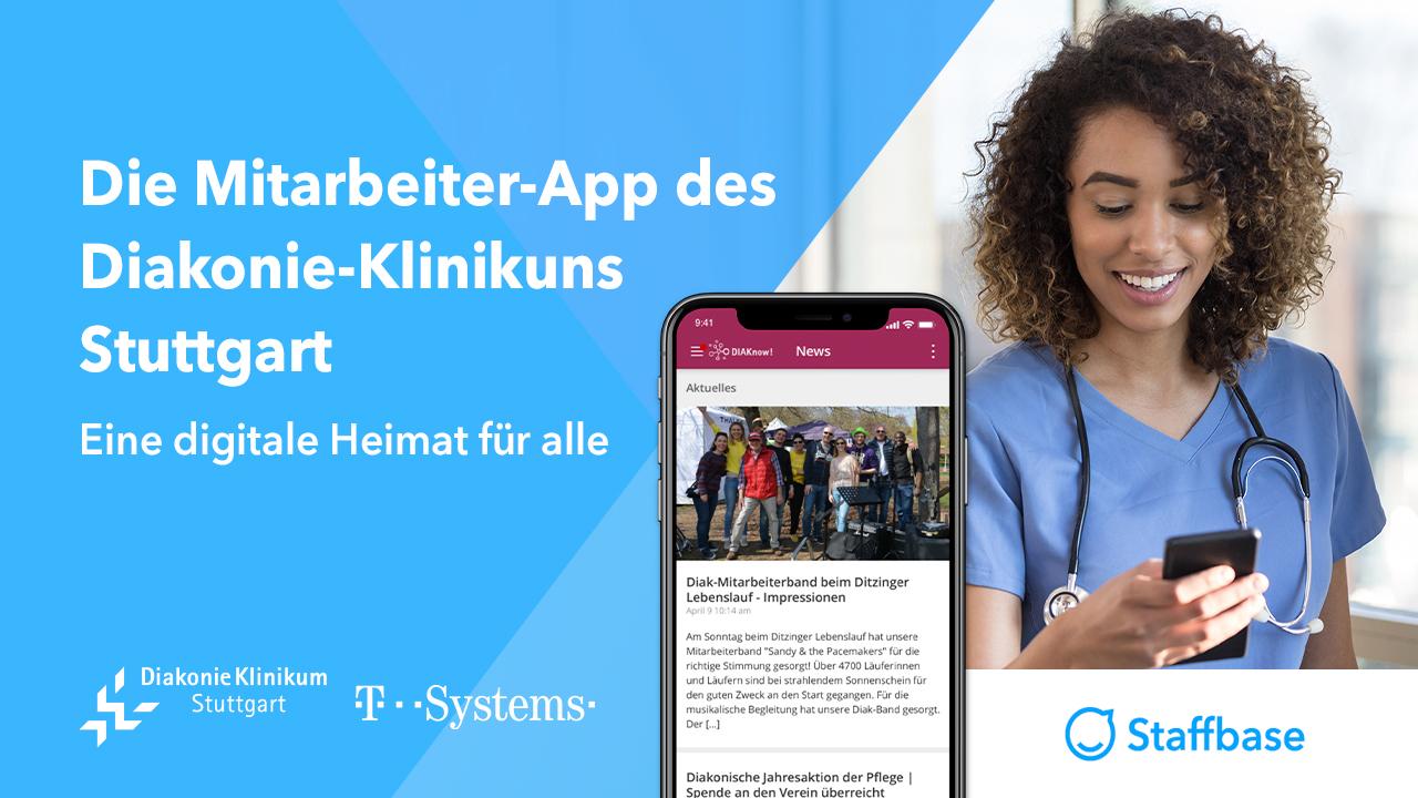 Die Mitarbeiter-App des Diakonie-Klinikums Stuttgart — Eine digitale Heimat für alle