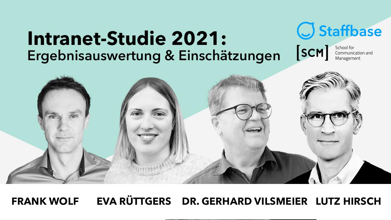 Intranet-Studie 2021: Status Quo & Handlungsempfehlungen