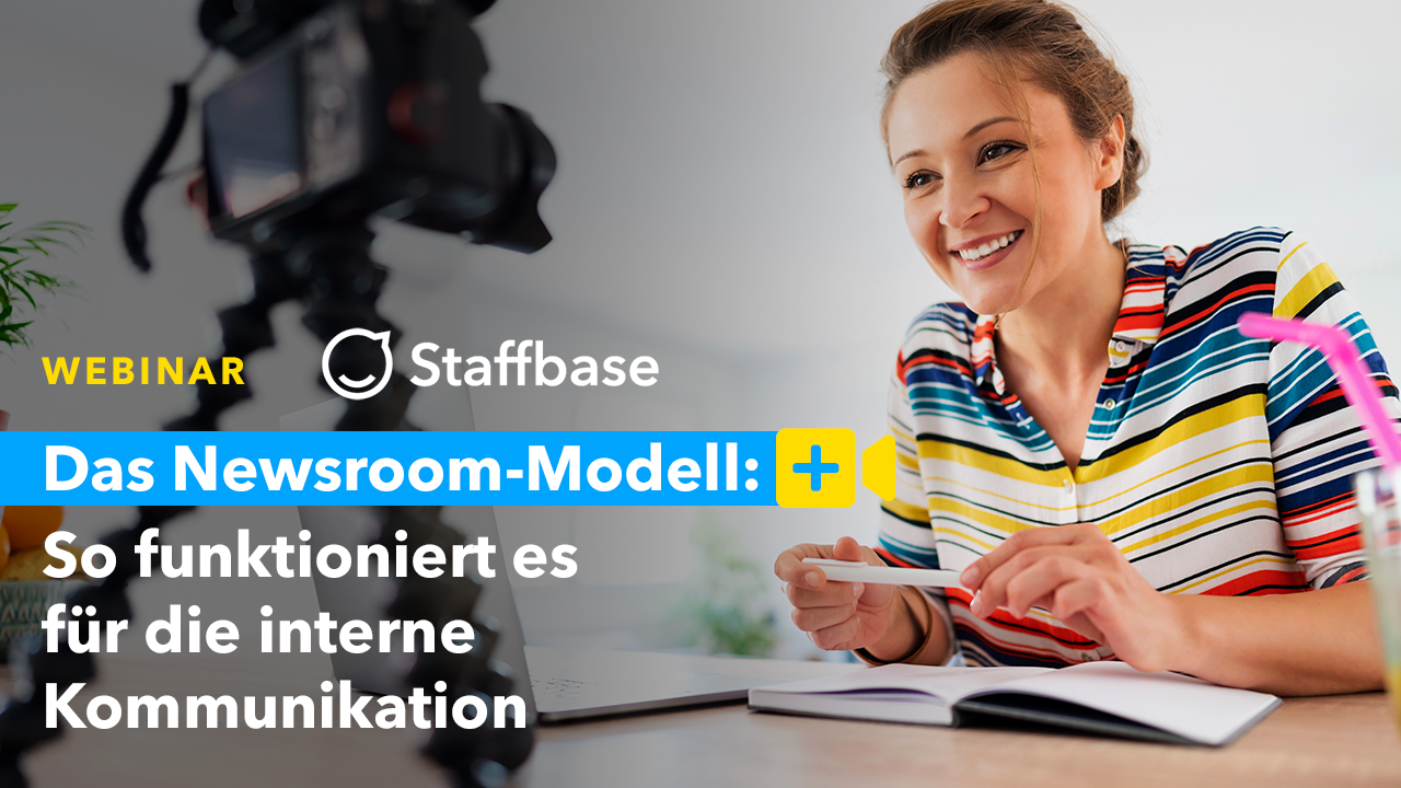 Das Newsroom-Modell: So funktioniert es für die interne Kommunikation